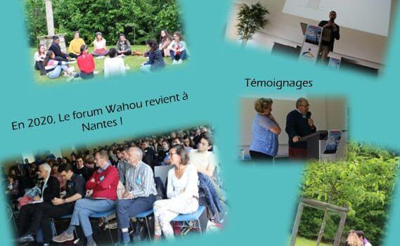 Plusieurs photos représentant les différents temps du forum